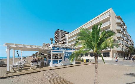 Miramar Calafell - vynikajíci hotel na zlatavé a široké pláži v centru Calafellu