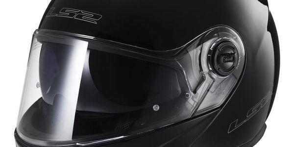 Výklopná přilba LS2 FF325 Strobe Barva černá lesk, Velikost XXL (63-64)