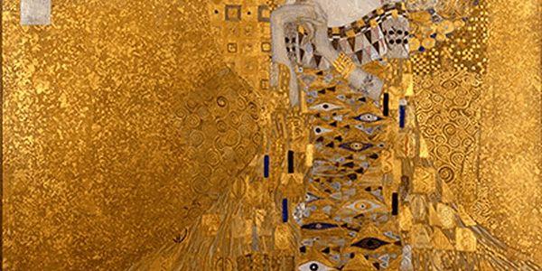 Reprodukce obrazu Gustav Klimt Adele Bloch-Bauer I, 45x45cm