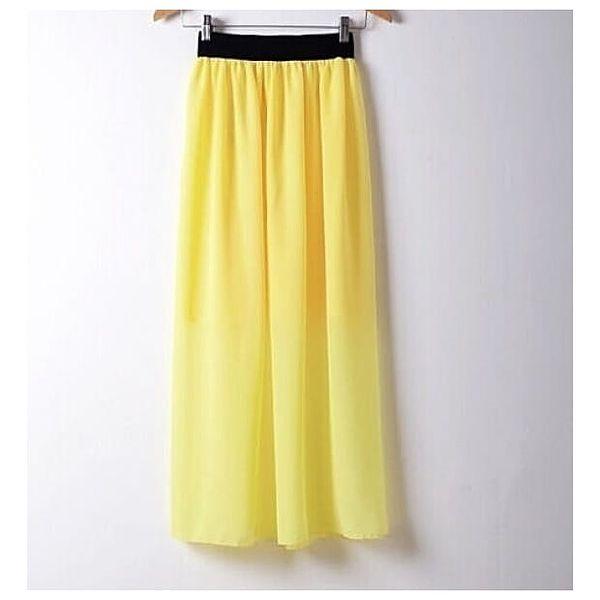 Dlouhá maxi sukně