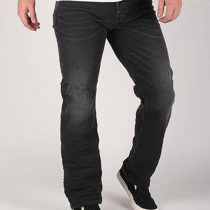 Džíny Diesel Waykee L.32 Pantaloni Černá