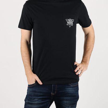 Tričko Vans Mn Original Triangle Black Černá