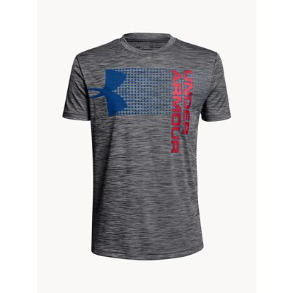 Tričko Under Armour CroSSfade Tee Šedá