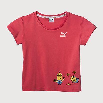 Tričko Puma Minions Tee Růžová