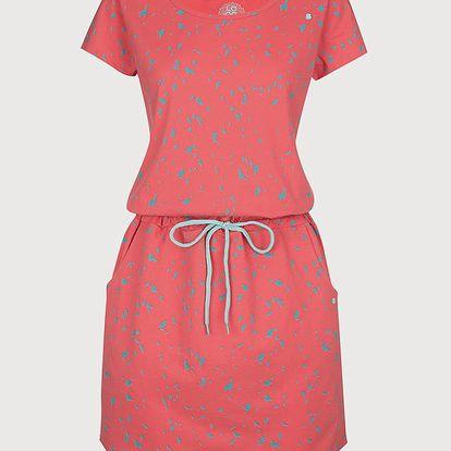 Šaty Loap Amber Růžová
