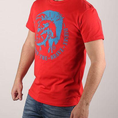 Tričko Diesel T - Diego - Fo Maglietta Červená