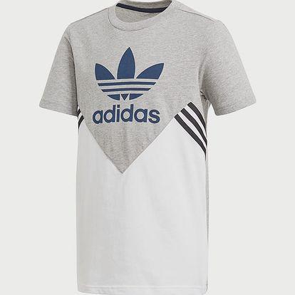 Tričko adidas Originals J M Fl Tee Bílá