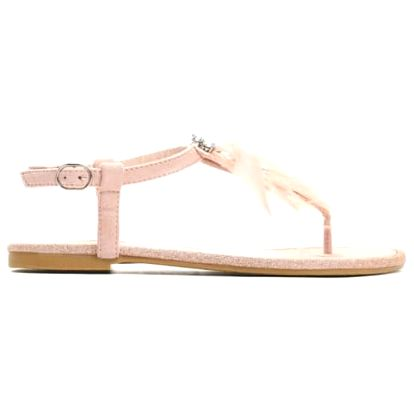 Dámské růžové sandály Elekia 7267
