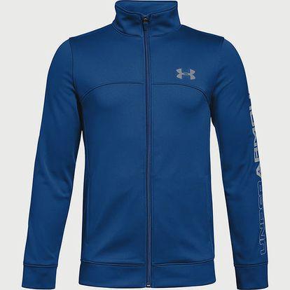 Mikina Under Armour Pennant Warm-Up Jacket Modrá