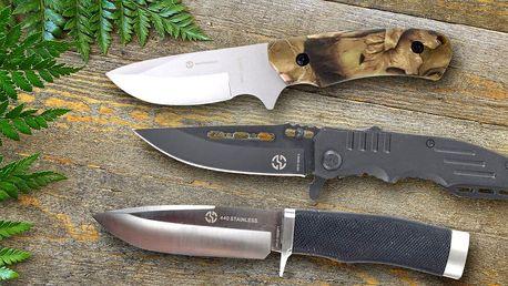 Outdoorové nože z kvalitní oceli
