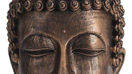 Dekorační hlava Buddha