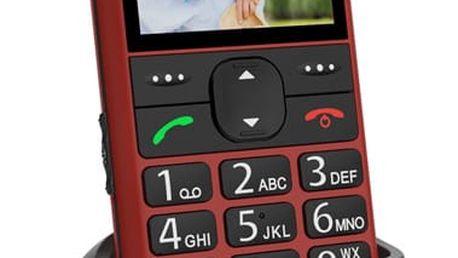 Mobilní telefon CPA Halo 11 červený (TELMY1011RE)