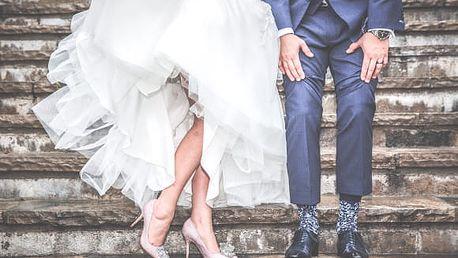 Luxusní svatební fotokniha A4 na šířku z vlastních fotek