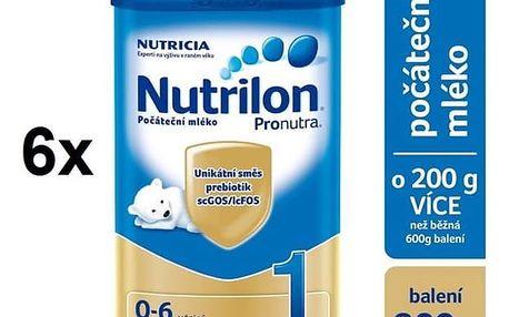 Nutrilon 1 Pronutra, 800g x 6ks