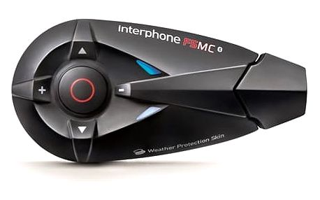 Handsfree Interphone CellularLine F5MC pro uzavřené a otevřené přilby (INTERPHONEF5MC)