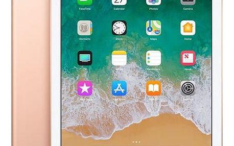 Dotykový tablet Apple (2018) Wi-Fi 32 GB - Gold (MRJN2FD/A) Software F-Secure SAFE, 3 zařízení / 6 měsíců v hodnotě 979 Kč + DOPRAVA ZDARMA