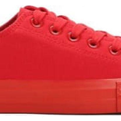 Dámské červené tenisky Thina 8411