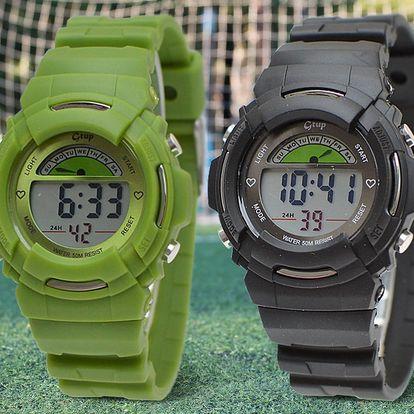 Multifunkční a odolné dětské digitální hodinky