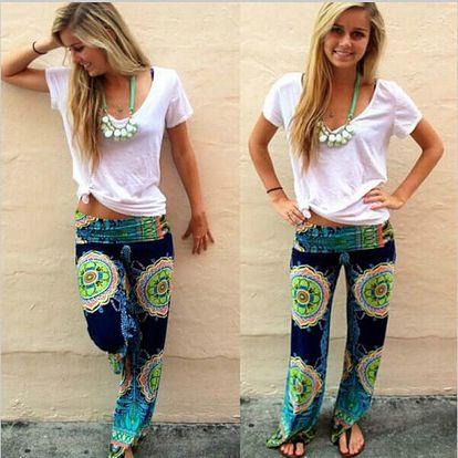 Volné dámské kalhoty Jayla
