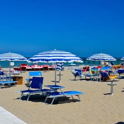Výborná dovolená u moře v Itálii severně od Rimini. Ideální i pro rodiny s dětmi