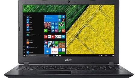 Notebook Acer Aspire 3 (A315-51-385R) černý + dárky (NX.GNPEC.004)