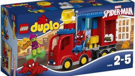 LEGO® DUPLO® 10608 Spidermanovo dobrodružství s pavoučím náklaďákem