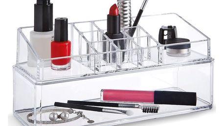 Dvojitý organizér na kosmetiku Domopak Make Up