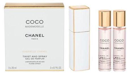 Chanel Coco Mademoiselle 3x20 ml EDP Twist and Spray W