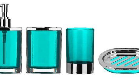 Modrý koupelnový set Premier Housewares