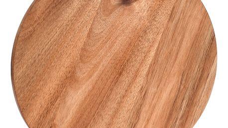 Kuchyňská deska pro krájení - kruhové, akátové dřevo, EH Excellent Houseware