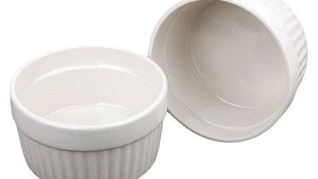 EH Excellent Houseware Keramické mističky, multifunkční zapékací mističky 185ml - 2 kusy
