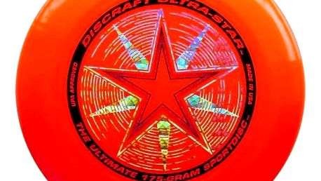 Frisbee Discraft Ultimate Ultra-star orange