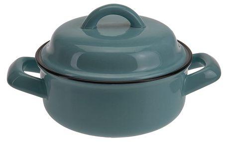 Keramický hrnec s poklicí,ohnivzdorné nádobí, 200 ml EH Excellent Houseware