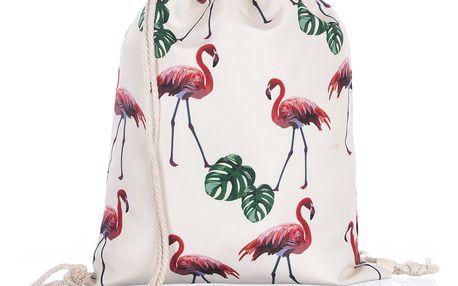 Fashion Icon Sportovní vak Plameňák Tropical