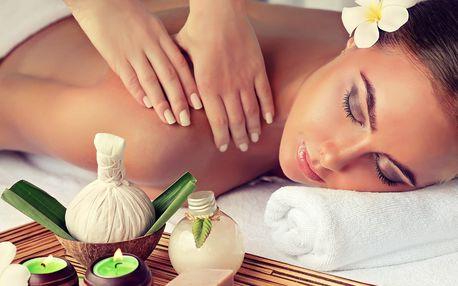 Relaxační aroma masáž s peelingem a zábalem
