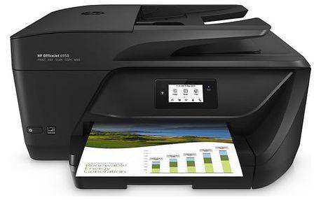 Tiskárna multifunkční HP 6950 (P4C78A#625) černý A4, 16str./min, 9str./min, 4800 x 1200, 1 GB, duplex, WF, USB