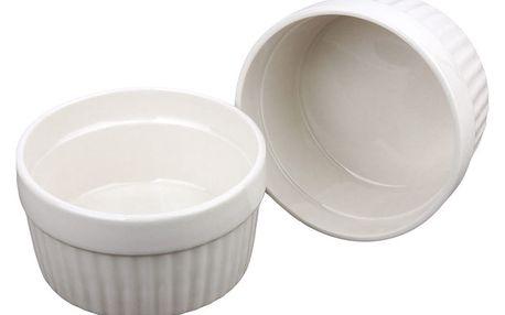Keramické mističky, multifunkční zapékací mističky 185ml - 2 kusy EH Excellent Houseware
