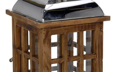 Dřevěná lucerna SVÍTILNA Home Styling Collection