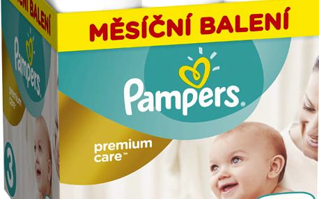 Pampers Pleny Premium Care 3 (Midi) - 204 ks