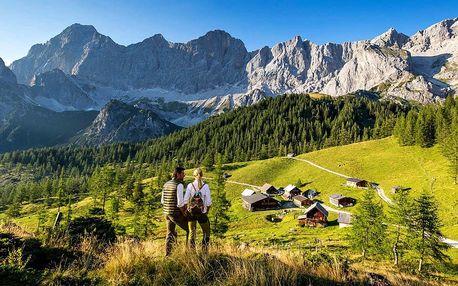 Za túrami do Dachsteinu: 4denní pobyt v Rakousku