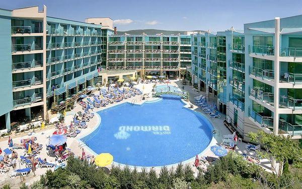 Bulharsko - Slunečné Pobřeží na 8 dní, all inclusive s dopravou letecky z Prahy 300 m od pláže