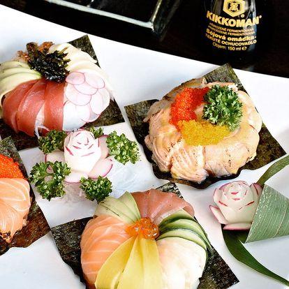 Sushi novinka! Donuty s lososem a tuňákem