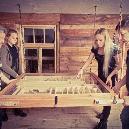 Akční úniková hra Pevnost až pro 6 hráčů
