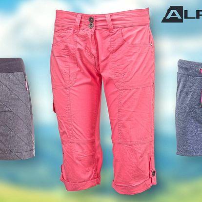 Dámské capri a šortky Alpine Pro