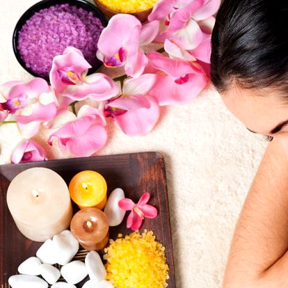 Báječná relaxace: Kosmetika, koupel i masáže