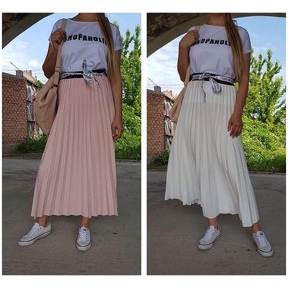 Dlouhá plisovaná sukně Emira