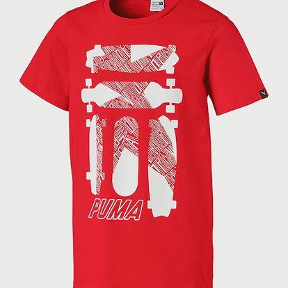 Tričko Puma Skate Graphic Tee Červená