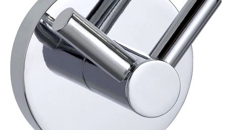 Koupelnový věšák PINETO DUO, Power-Loc - stal nierdzewna, WENKO