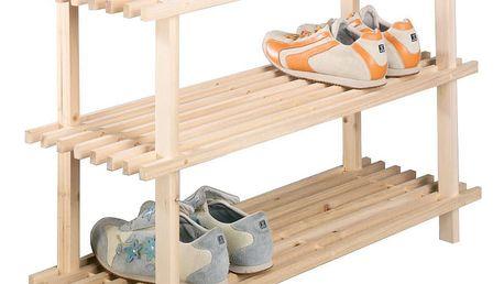 Stojan na boty, obuv, regál, 3 úrovně,ZELLER