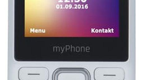 Mobilní telefon myPhone 6310 Dual SIM bílý (TELMY6310WH)